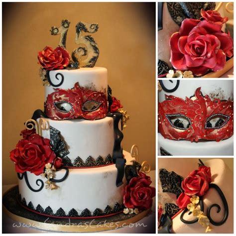 masquerade themed quinceanera cakes sandra s cakes masquerade themed quince celebration