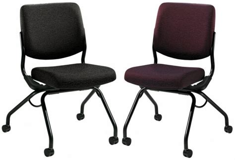 Armless Office Chairs With Wheels Hon Folding Chairs Hon Armless Folding Chair With