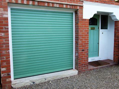 Green Garage Doors Aluroll Compact Roller Garage Doors Abr Doors