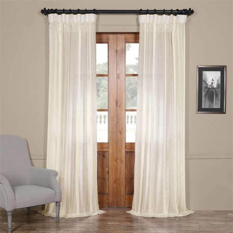 half off drapes half price drapes antigua off white striped linen sheer