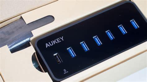 Usb 3 0 Hub aukey usb 3 0 hub mit lan anschluss und 6 usb ports im