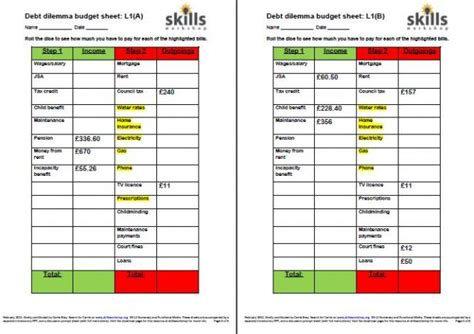 printable money management games for adults mss1 l1 1 skills workshop