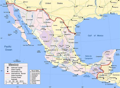 map of mexico and cities the largest most detailed mexico map and flag travel