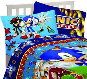 Sonic The Hedgehog Bedroom Set Speedy Sonic The Hedgehog Sheet Set