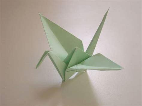 Origami Tsuru - origami tsuru crane