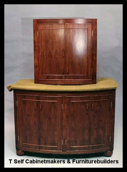 Bow Front Vanity Cabinet by Awh Vanity