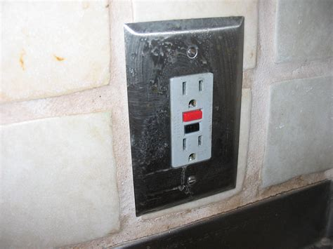 outdoor wall light with gfci outlet replacing a gfci outlet 9 steps