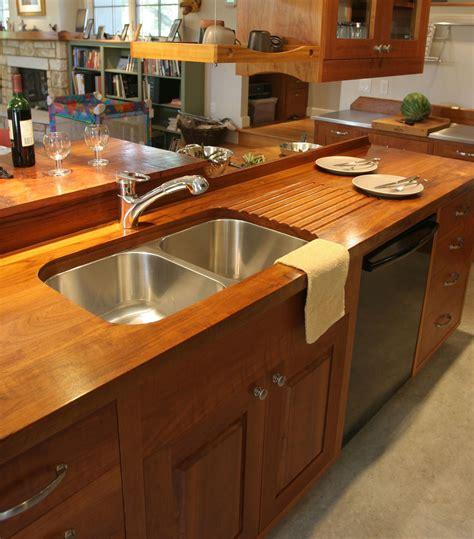 teak wood countertop photo gallery by devos custom woodworking