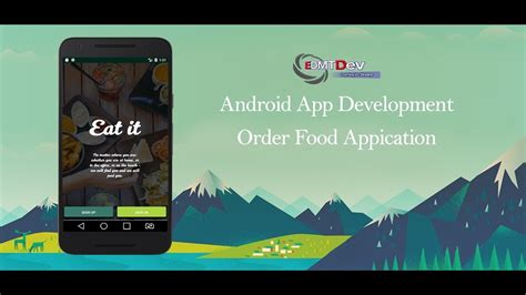 android tutorial easy android studio tutorial order foods part 1 signup