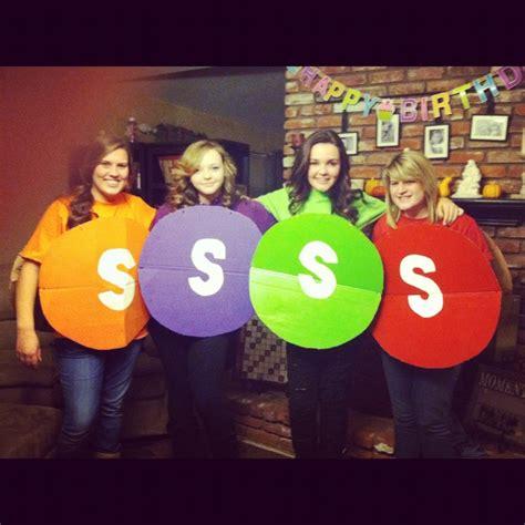 skittle costume  halloween  easy
