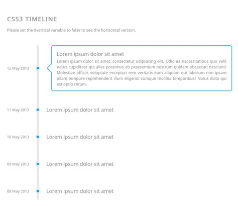html layout snippets responsive css3 timeline coding code css css3 html html5