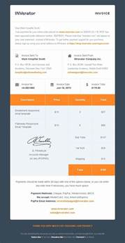 Invoice Template Email by Invoice Template Email Invoice Template Ideas
