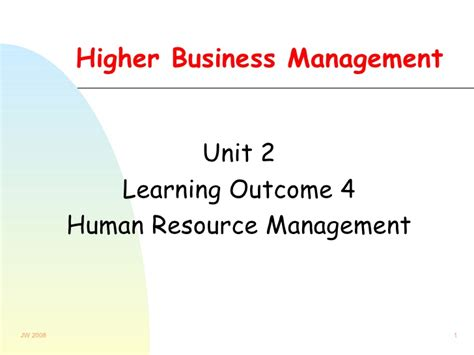 Why Mba In Human Resource Management by Human Resource Management