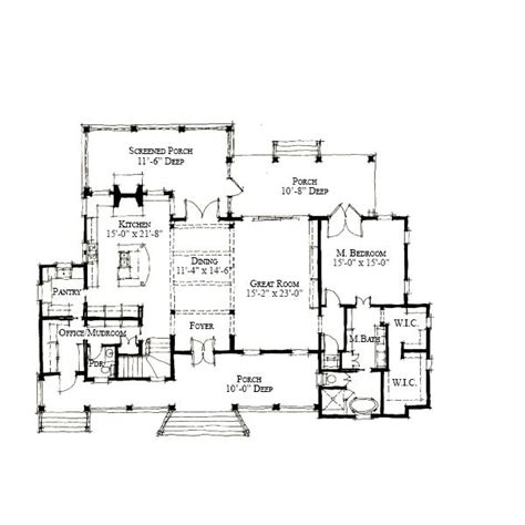 allison ramsey floor plans allison ramsey architects floorplan for diane s