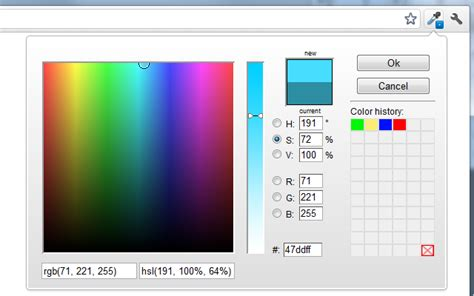 iosart 187 colorzilla for chrome is here
