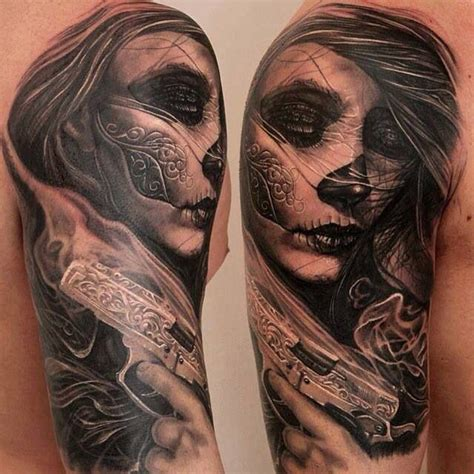 tattoo nightmares day of the dead day of the dead tattoo sleeve tattoo inspiration