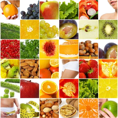 Nutrition Napwha Healthy Food Collage