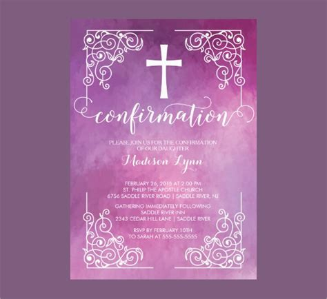 confirmation invitations templates confirmation invitation template 8 free psd vector ai