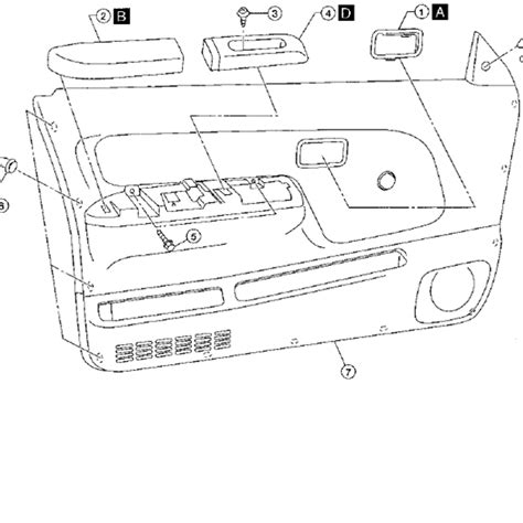 2001 nissan frontier speaker replacement gallery diagram
