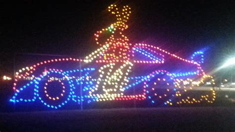 texas motor speedway christmas lights gift of lights snow motor speedway mooshu jenne