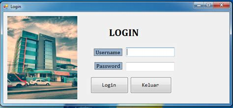 membuat form login multi user dengan vb membuat form login di vb net dengan database sql server