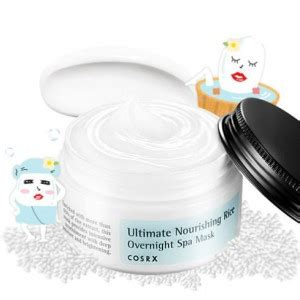Cosrx Ultimate Nourishing Rice Overnight Spa Mask 50ml testerkorea trend setter from korea