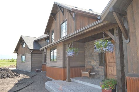 Exterior Wainscoting Ideas by Rustic Reclaimed Barnwood Siding Ranchwood To