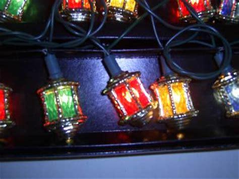 Vintage Set Pifco Victorian Lantern Christmas Lights P W O Pifco Tree Lights