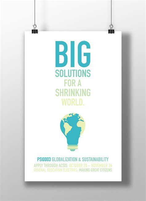 design poster promotion general education promotion poster design on behance
