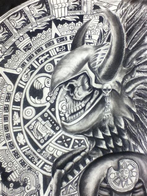 aztec art tattoos 720px
