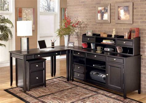 Black Desks For Home Office Home Office Tables For Your Comfort