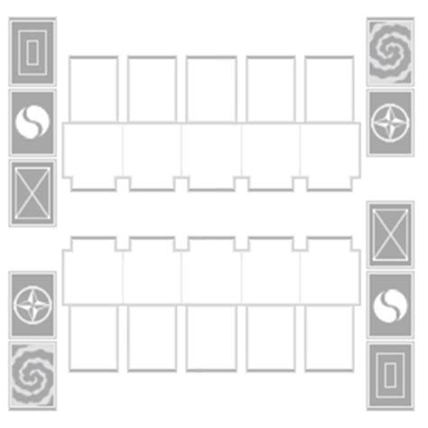 yugioh card zones template png links tag duel field projects ygopro forum