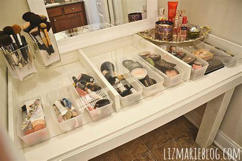 Diy Glass Top Desk Diy Makeup Storage Ideas