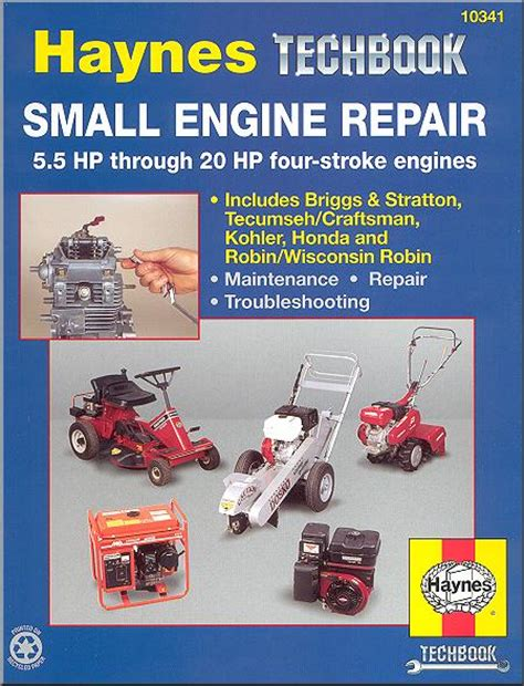 small engine repair manual 5 5 hp 20 hp 4 stroke haynes