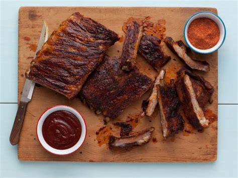 food network country style ribs style hickory smoked beef and pork ribs recipe
