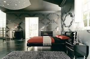 Black And Red Home Decor Coolest Red And Black Bedroom Decorations