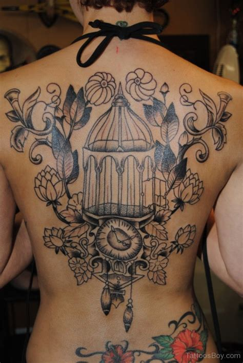 Cage Tattoos Tattoo Designs Tattoo Pictures Bird Designs On Back