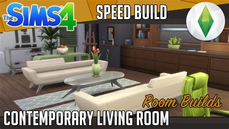 sims 4 wohnzimmer the sims 4 room build contemporary living room