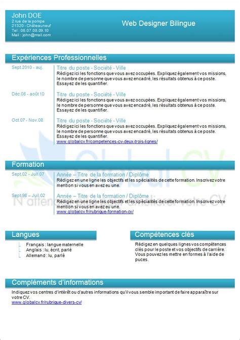 Lettre De Présentation Jobboom Modele Cv 2015