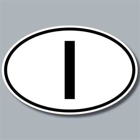 Länder Aufkleber Auto Italien by 10 Aufkleber Sticker Auto Pkw Kfz Kennzeichen