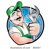 Royalty Free RF Mechanic Clipart Illustration By TA Images  Stock