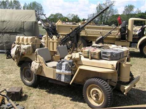 Desert Rat Jeep Other Vehicles Lrdg Sas On Land