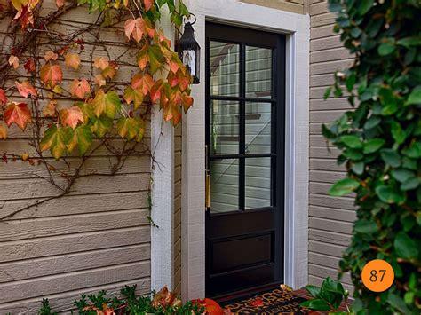 choose front door glass inserts single patio door