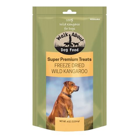 Food Bravo Puppy Premium Organic 20kg walk about premium freeze dried kangaroo treats 4 oz bag naturalpetwarehouse