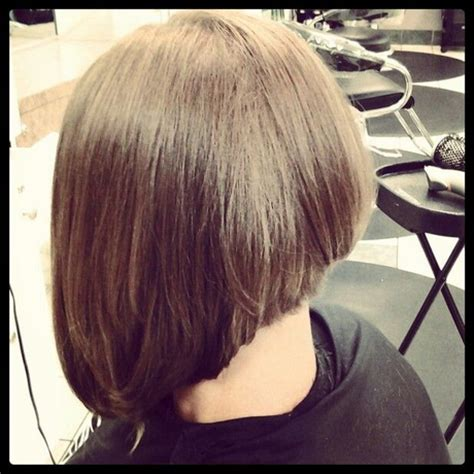 photos of a line bob hairstyles layered a line haircut