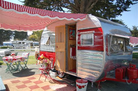 vintage travel trailer awnings vintage trailer awnings from oldtrailer com
