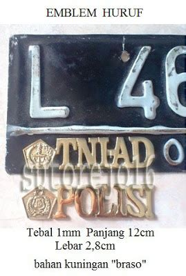 Emblem Mobil Garuda Ri Emblem Plat Mobil Ri atribut dan aksesoris tni polri emblem plat nomor mobil