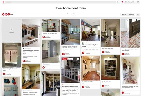 home design board digital mood boards utilising for your self build