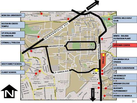 up film center map new development up town center in katipunan quezon city