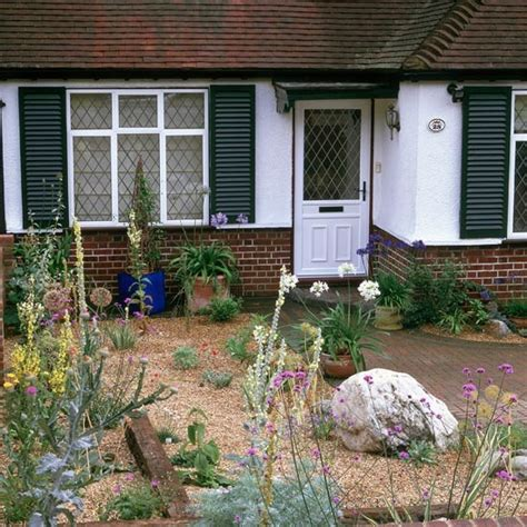 Gravel Front Garden Front Garden With Planting In Gravel Garden Design